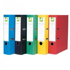 Coloured Lever Arch Files