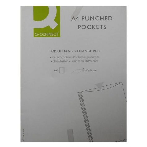 A4 Punched Pockets