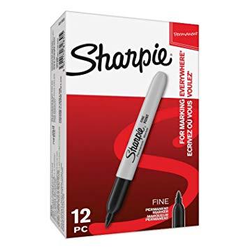 Sharpie Fine Markers Black